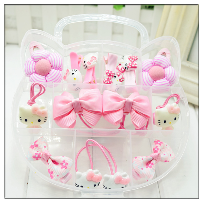 Color classification: Pink-KT cat gift box set