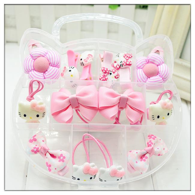 Цвет: Розовый-KT кошка Подарочный бокс-сет