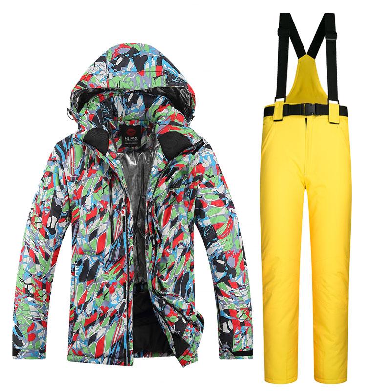 Цвет: Зеленый тиснением+желтые штаны
