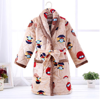 Color classification: Quilted padded robe small Huang ren