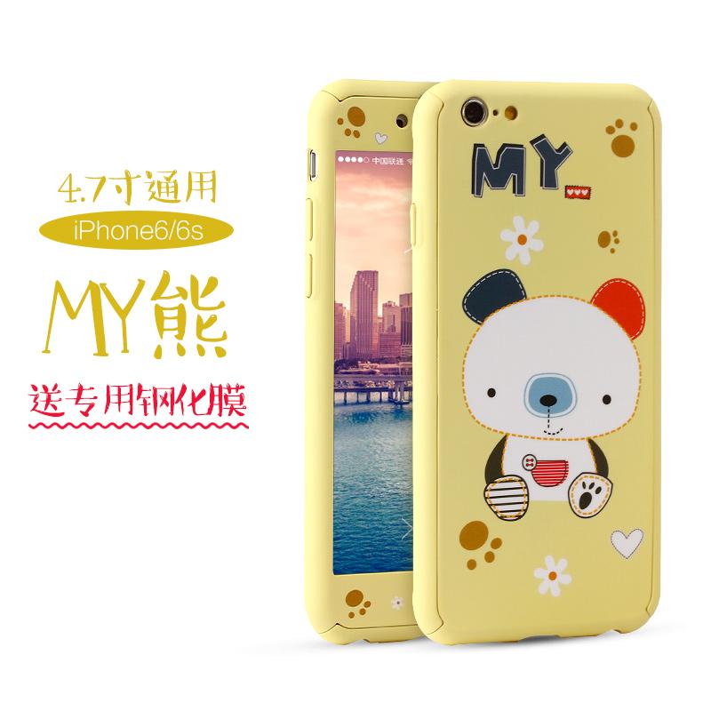 手机壳可爱卡通韩国6plus全包六创意保护套防摔女款