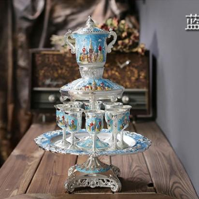 Цвет: Высокие серебристо-голубой Дворец