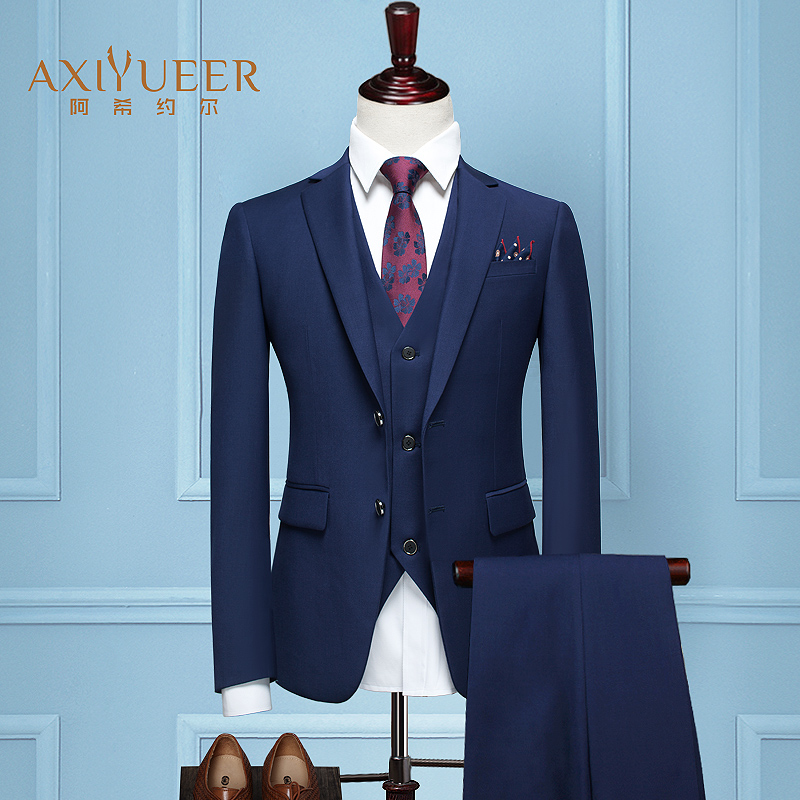 Color: c Double buckle Royal blue 13 piece set