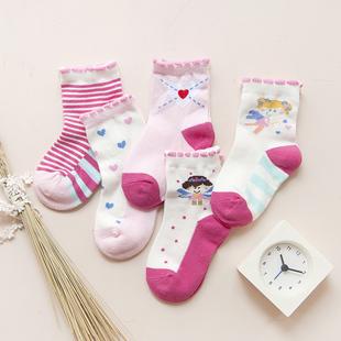 儿童童袜子纯棉秋冬新款男女童宝宝婴儿1-3-5-7-9-12岁中筒袜包邮