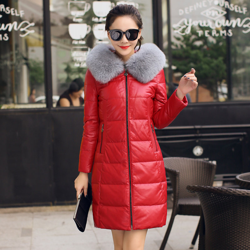 Color classification: 8855 Super big red fox fur collar