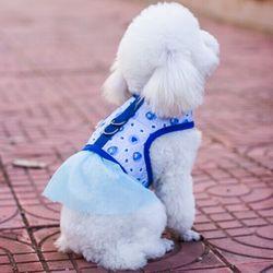 卡贝呀牵引绳背心式溜狗绳胸背带金毛泰迪中小型犬狗绳狗项圈狗链
