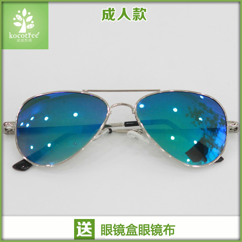 Color classification: Adult green (send glasses box glasses cloth)