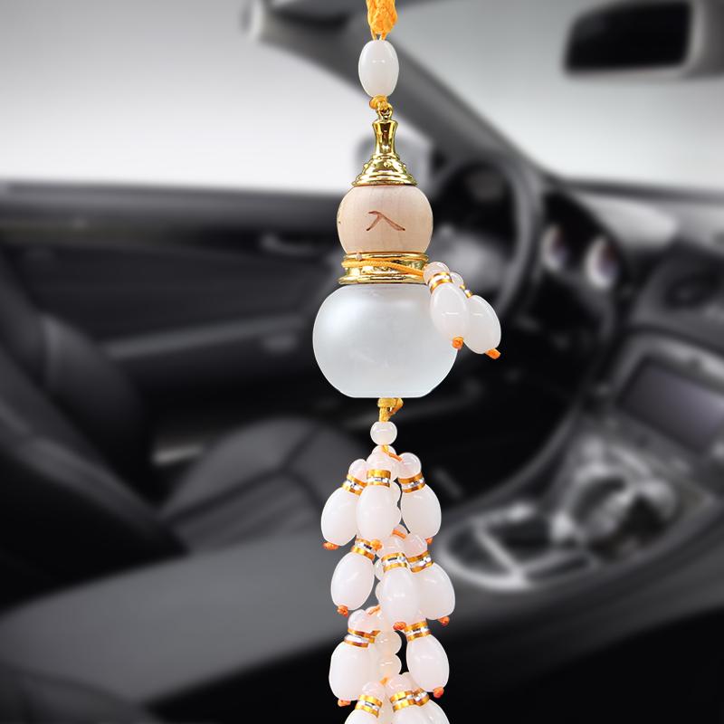 汽车香水挂件车内饰品平安水晶葫芦车吊饰品挂件车载汽车挂饰用品