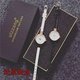 Zhao Liying with the watch Korean simple and thin with small red female students girlfriend mini small dial quartz watch