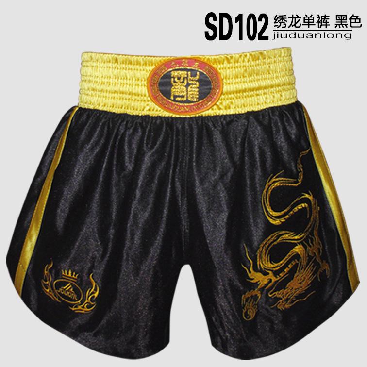 Цвет: Вышитый шорты черный дракон Sd102-4