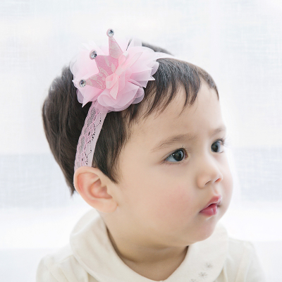 Color classification: Khaki chiffon bow Crown pink