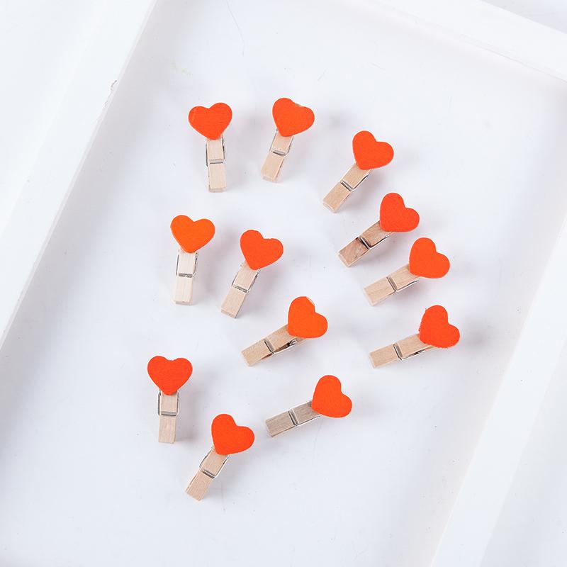 Цвет: Оранжевый-цвет любви клип (10 шт)