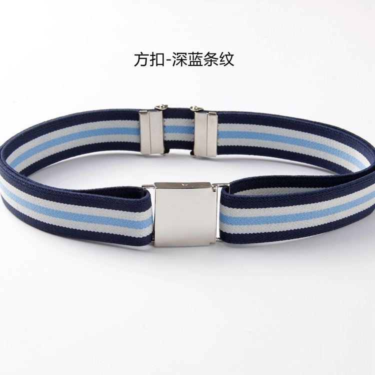 Color classification: Side buckle-dark blue stripes