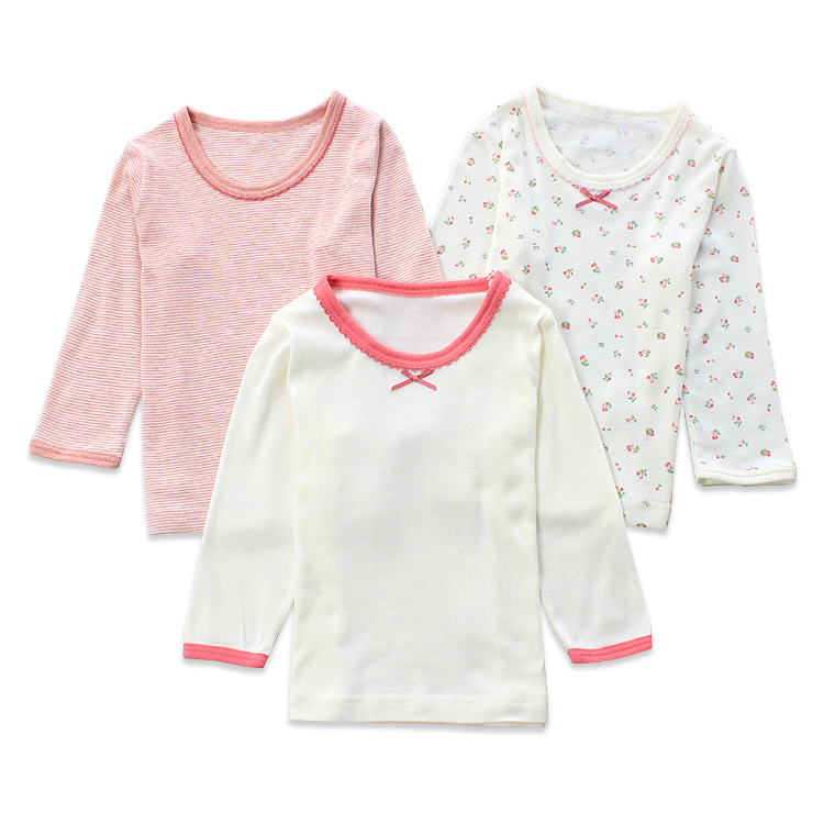 Color classification: Pink 3 piece long sleeve