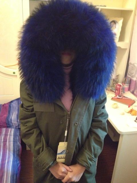 Цвет: ] [ армии зеленый Пальто синий сапфир