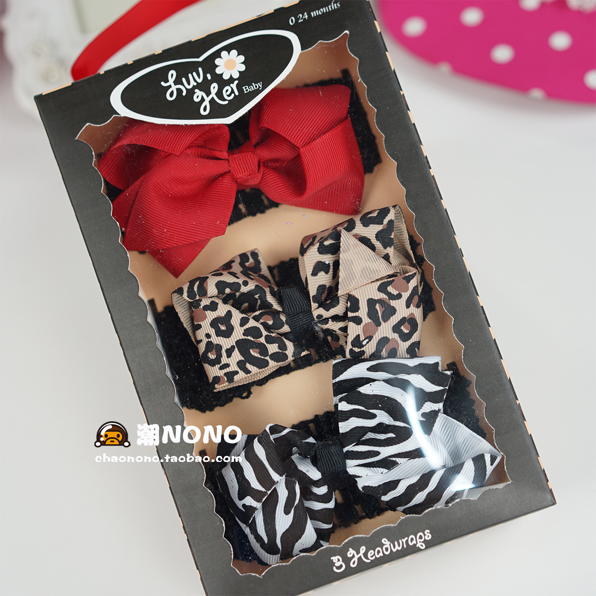 Цвет: Леопардовым принтом лука подарочной коробке