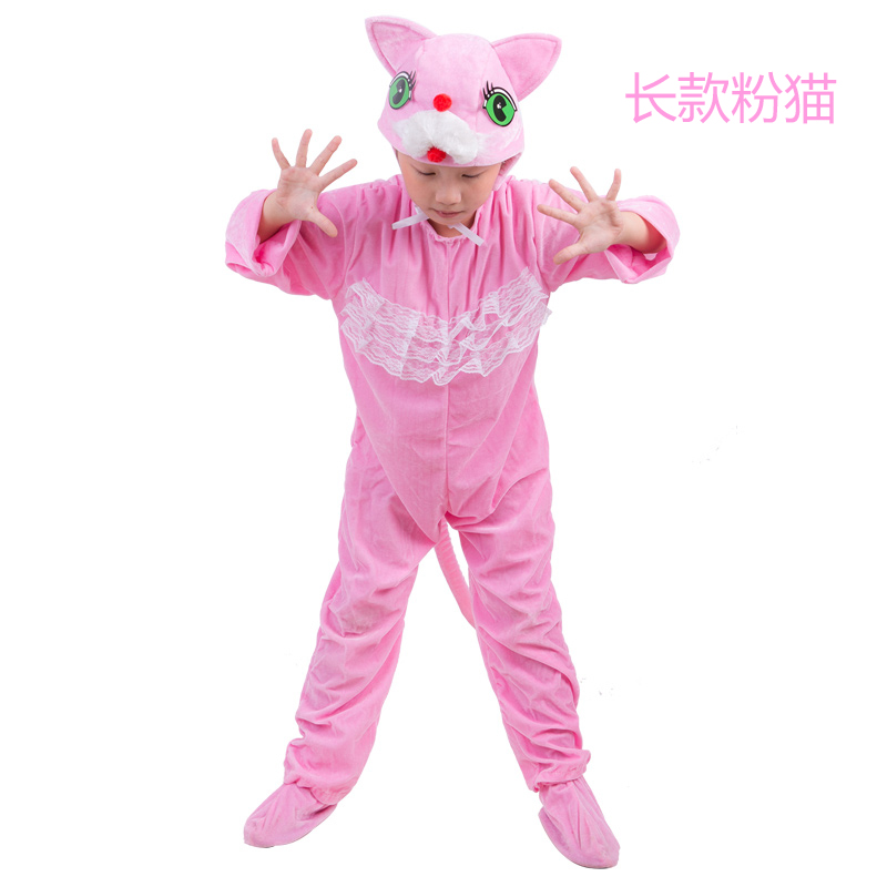 Color classification: Pink large zip around wallet pink cat
