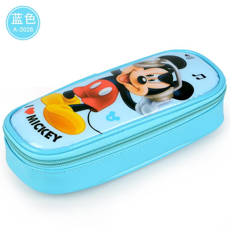 【新代母婴官网】迪士尼笔袋儿童文具盒女韩国可爱小