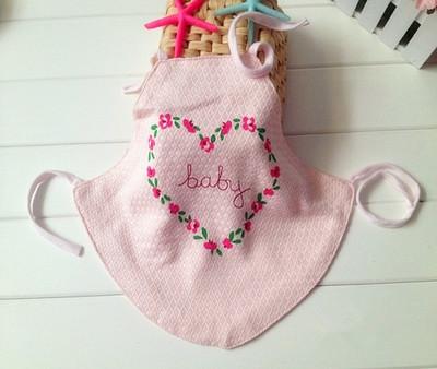 婴儿夏季内衣新生儿竹纤维双层肚兜宝宝系带肚围护脐带比纯棉舒服