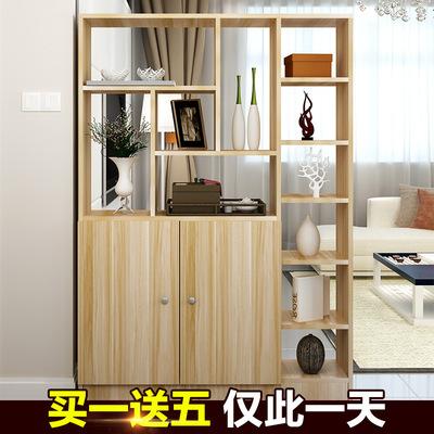 玄关柜酒柜门厅柜置物古董架木质隔断柜屏风客厅展示
