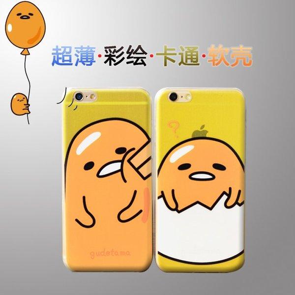 7日韩可爱苹果6plus保护壳矽胶女5