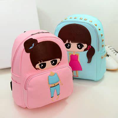特价韩版儿童秋游小背包旅行背包中小童卡通双肩包女童休闲潮包包