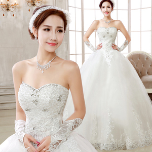 2015 new summer wedding dress with good qualtiy and gift