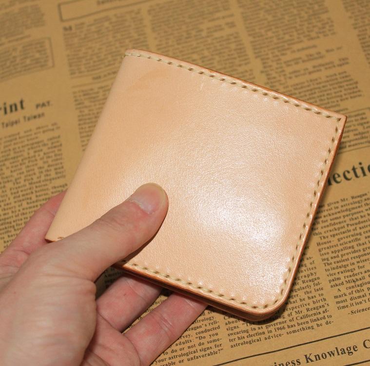不古手工皮具 短款钱包|showbagnow