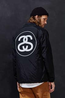 预定&正品 代购 Stussy SS Link Coaches Jacket 新款 大双S 夹克
