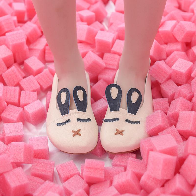 Giày nữ chất mềm mại mẫu mới mùa thu dễ kết hợp kiểu dáng dễ thương