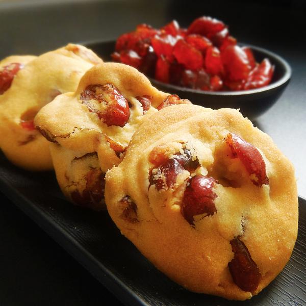 手工蔓越莓曲奇饼干