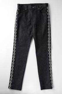 日本DISCOVERED 2015新款 侧边镶边牛仔裤