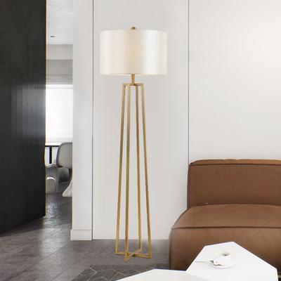 北欧创意轻奢立体四脚落地灯现代简约设计师书房客厅卧室落地的灯