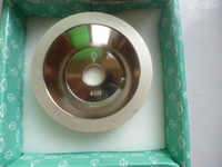 A diamond bowl type grinding wheel grinding wheel electroplating alloy diamond grinding wheel grinding wheel bowl type grinding wheel