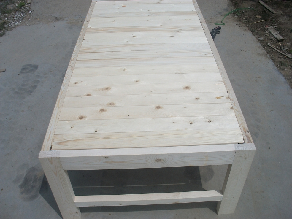 Solid wood bed board bedstead bed widening single bed double bed single bed couch couch rice bed lengthened in children