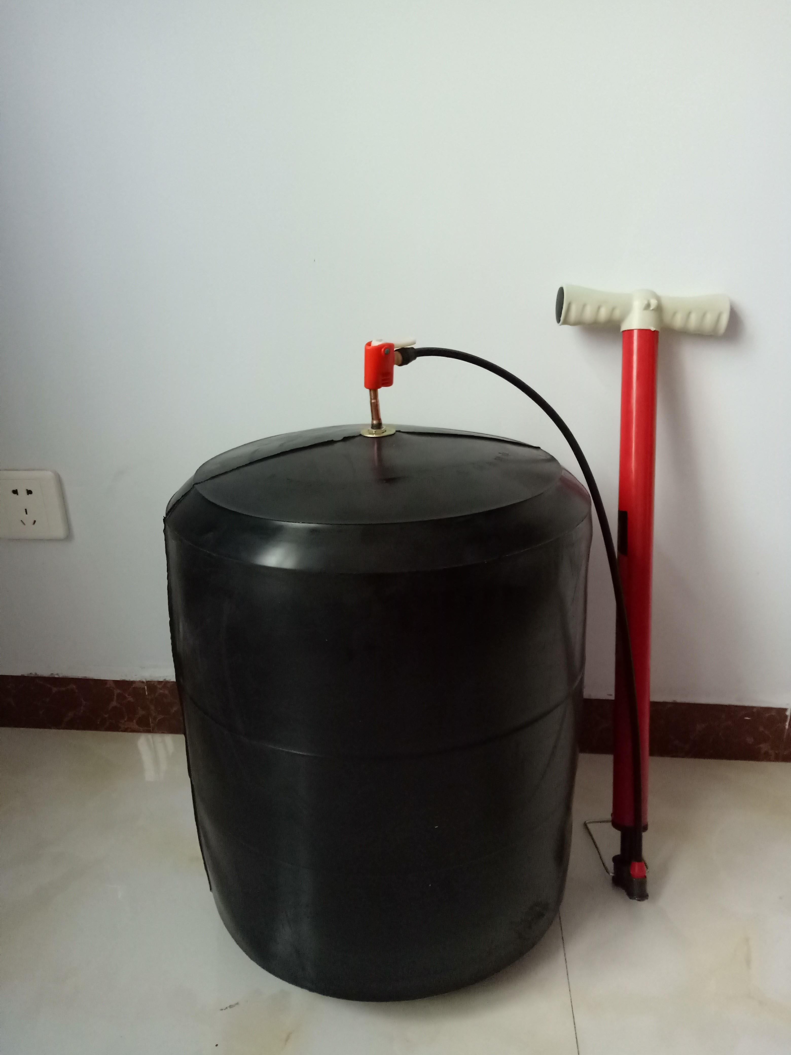дренажный трубопровод питательной воды 300 испытательное давление воды желчный надувной резиновый мяч шкуры отключение воды заблокированы пробка подушки безопасности