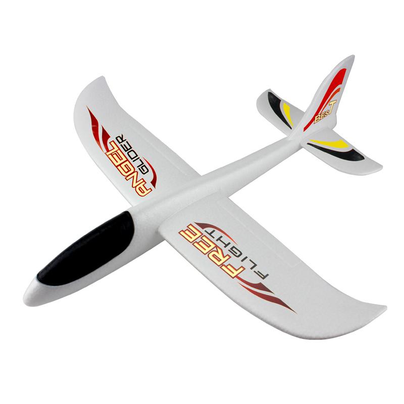 flygplan, segelflygplan tröghet är specialiserad på stora leksak skum typ modellflygplan kasta - hand.