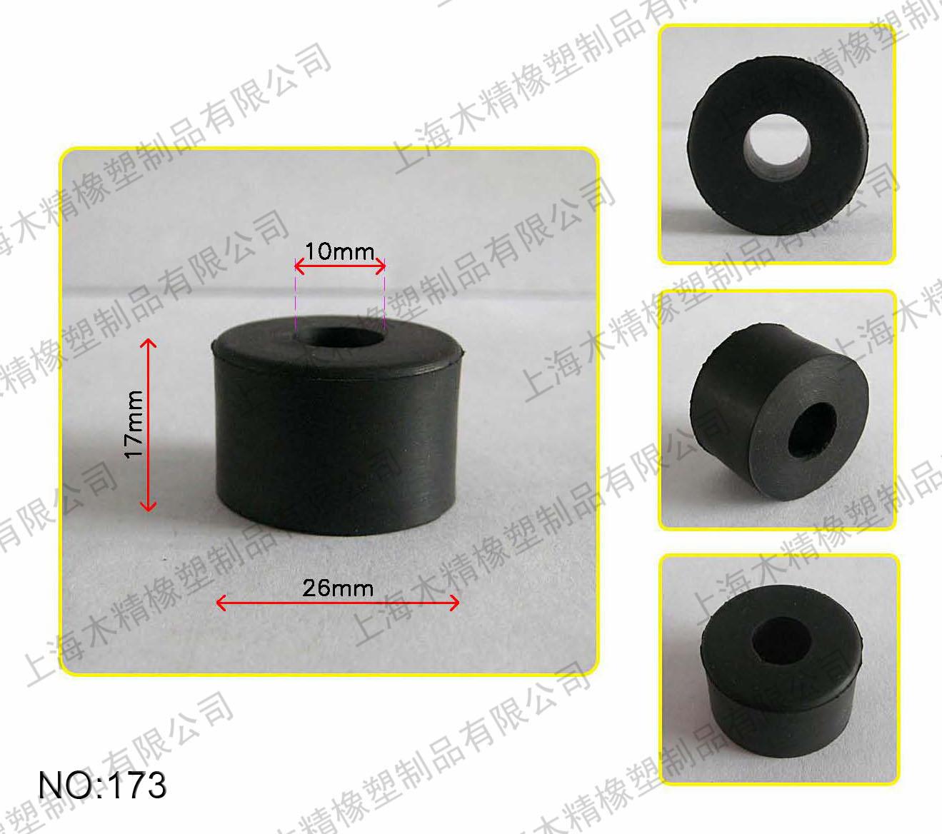 Gummidichtungen, ex - stecker, in ROLLEN, 26X10X17 zylindrische kissen
