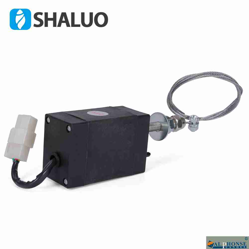 Diesel generator flameout 12V electronic shutdown controller, throttle switch 24V, vehicle use, four in one