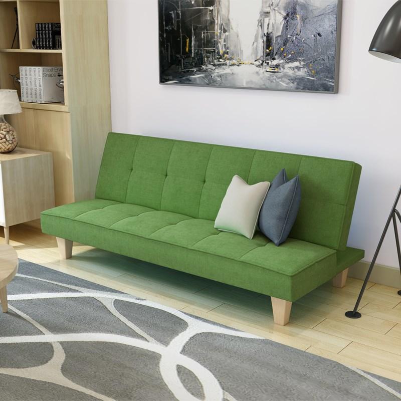 Πολυλειτουργικά καναπέ κρεβάτι πτυσσόμενου διπλό σαλόνι απλό μικρό διαμέρισμα ύφασμα ο καναπές κρεβάτι 1,8