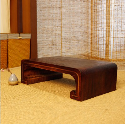 Japanese and a few simple wooden balcony tea table Kang several tatami bed solid matting of adult learning