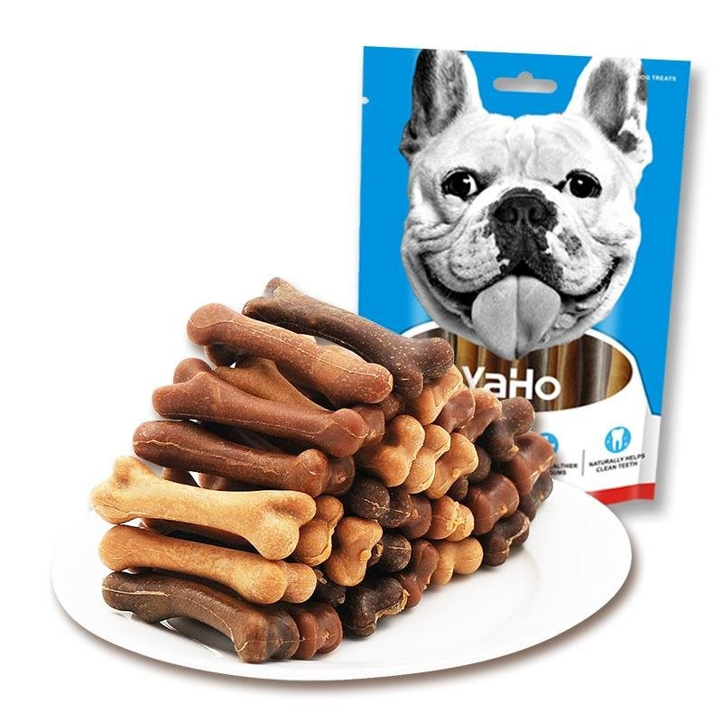 žvýkací pamlsky pro psy kost z pusy začal trénovat odměnu YaHo teddy štěně dílčí bluegrass 洁齿 morlar úžasný pes