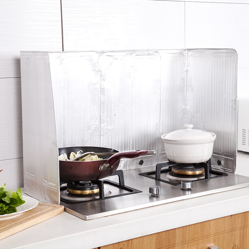 posebna zložljiva aluminijasta folija kuhinjsko olje blokira plošče, plošče v pečico in toplotno izolacijo olje, olje iz plošče