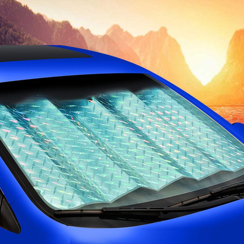 Avant d'un camion de pare - soleil automobile pare - soleil de tuba, à l 'abri de la lumière solaire à isolation de tampon de camion avant la visière de pare - brise