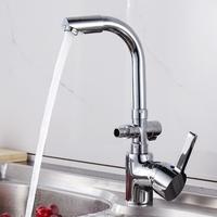 två koppar kran vatten med den multifunktionella tvättmaskin en mun till två - tre -