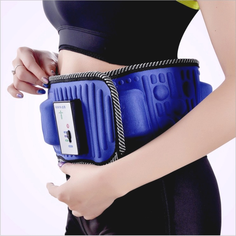 Heating stovepipe thin waist artifact female household abdomen liposuction machine lazy slimming belt belly slenderizor shock