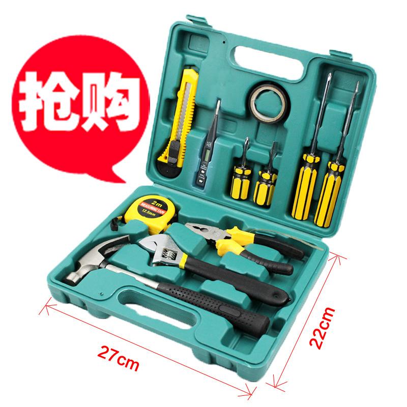 Manuale di UTENSILI per la casa come una funzione Hardware Kit di manutenzione di attrezzi per la Germania la combinazione di una serie di elettricista.