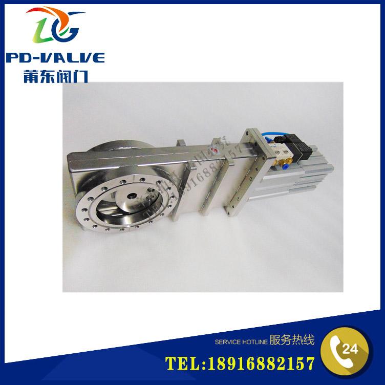 Fabricantes de Venda de Alta pneumático pneumático aço inoxidável válvula de vácuo válvula de vácuo ultra CCQ-150