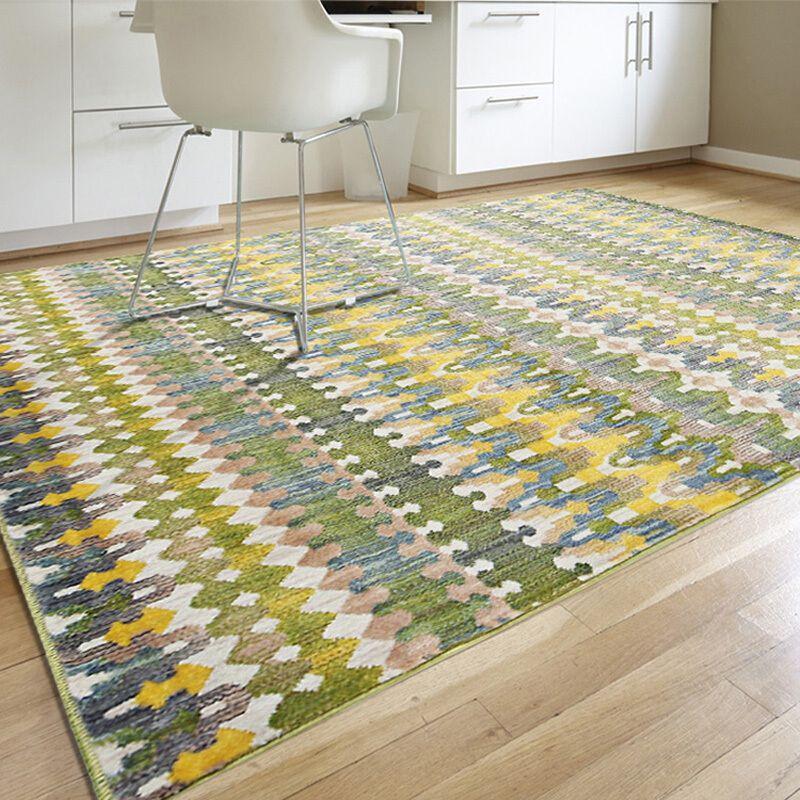 a hálószoba szönyeg divat egy modern vízfestékkel ágyba takaró egyiptomból származó, a nappali szőnyegét eu–usa - párna