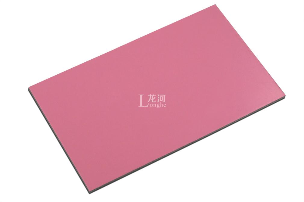 上海吉祥アルミニウム板単色シリーズ3 mm厚ピンクじゅうご看板门头飾り糸